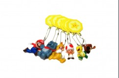 Super Mario 3D Land Keychain [Complete Collection]